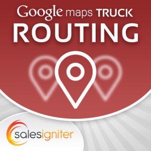 Magento Google Maps Truck Delivery Routing